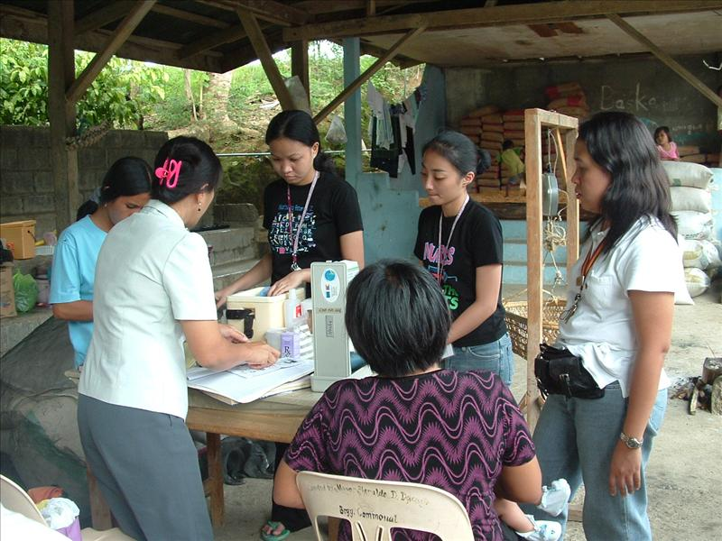immunization day on the bario