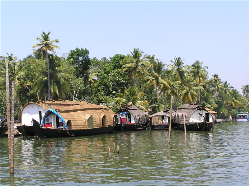 Backwaters Alleppey, Kerala