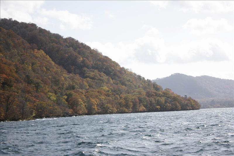 由子ノ口覽湖景