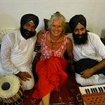 I invited Julie to come along to play with these amazing Indian performers: CJ and Punnu Wasu. They were invited to play in Bali for one week.
