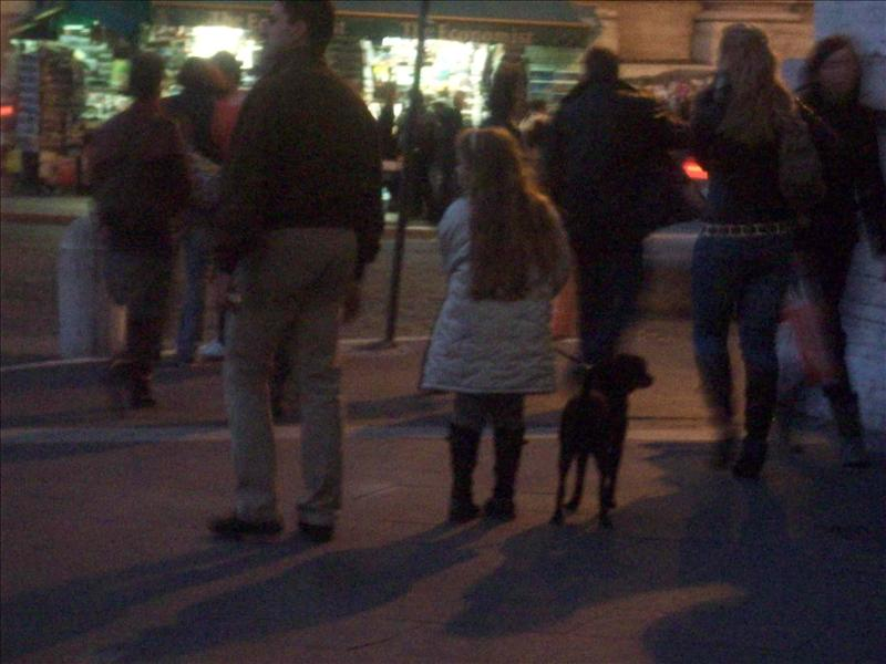 Aw, this was SO cute! Little girl and her pup.