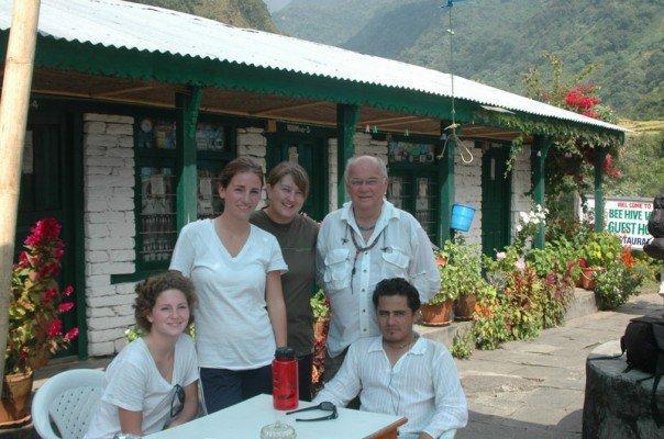 Annapurna Treks -  Suzie, Ramoo and friends