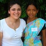 Sabina & I at the pastor and pastor