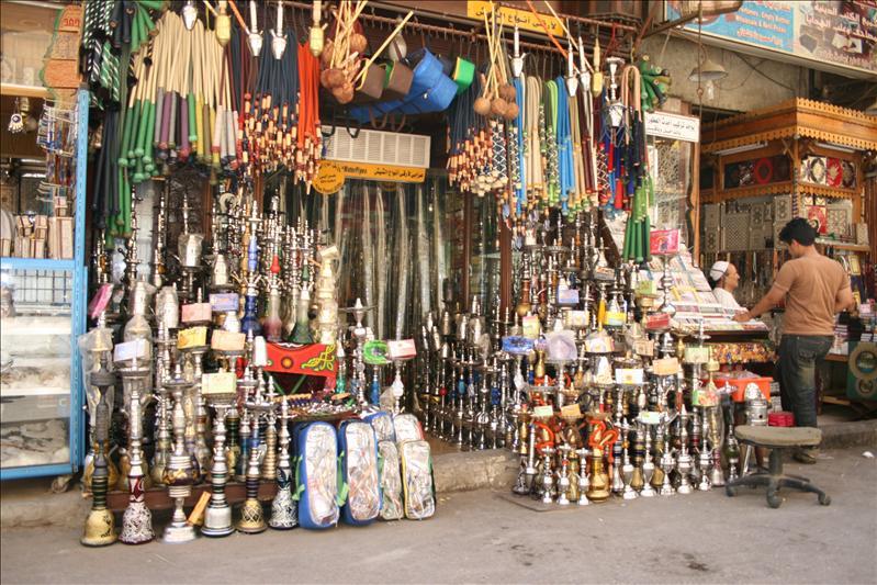 Walking at the bazar Khan al-Khalili (4/