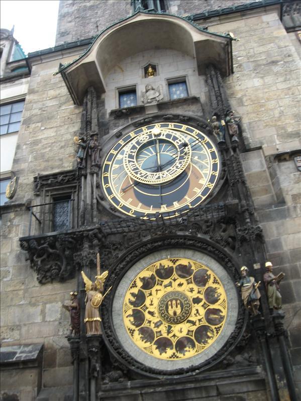 Overhyped clock