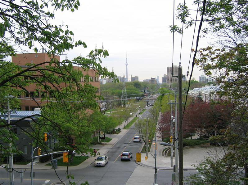 View of Toronto from Casa Loma 2