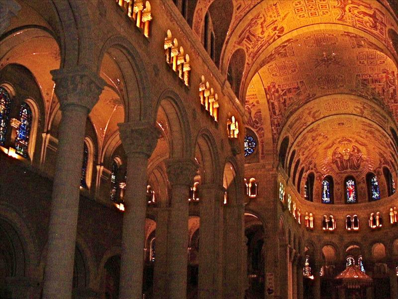 Inside,St. Anne De Beaupre,church