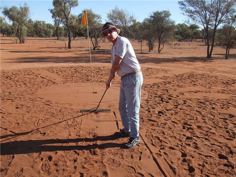 Quilpie golf club