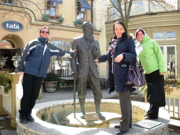 Me, George Bernard Shaw, Molly, Gisella