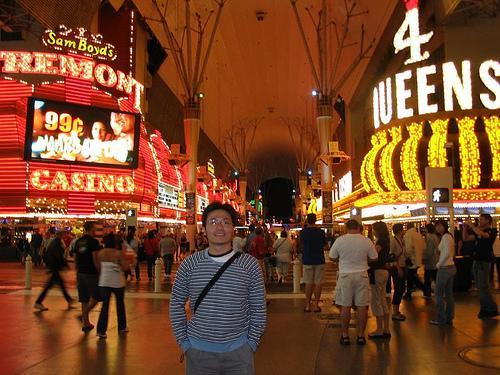 Vegas' street view