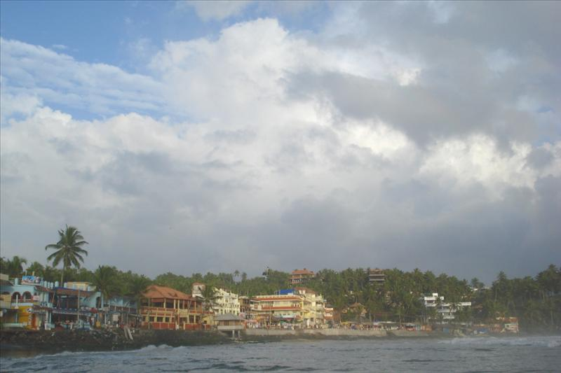 View of Kovalam beach