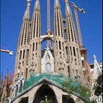 The Gaudi Experience included the Sagrada Familia ....