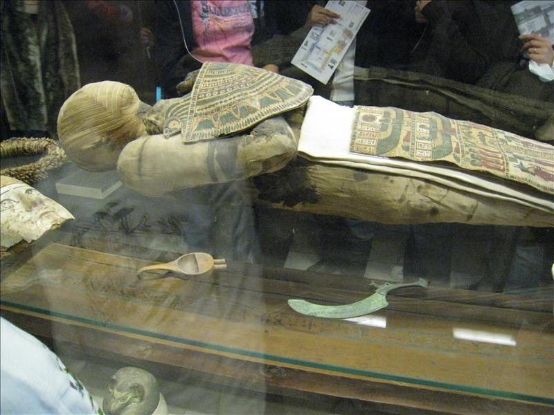 Real mummy...