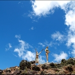 Statues on the hill