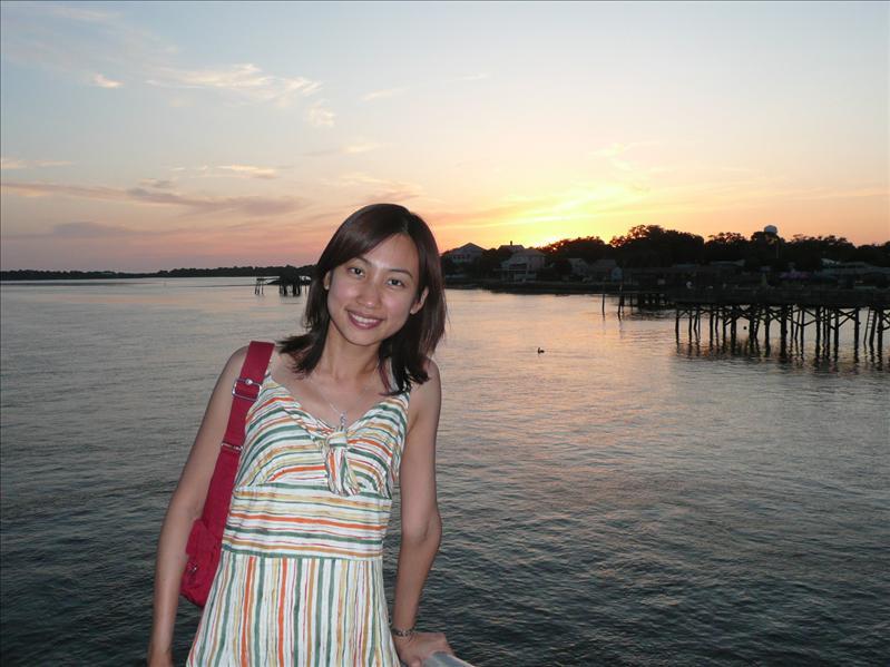 Cedar Key - 夕陽!