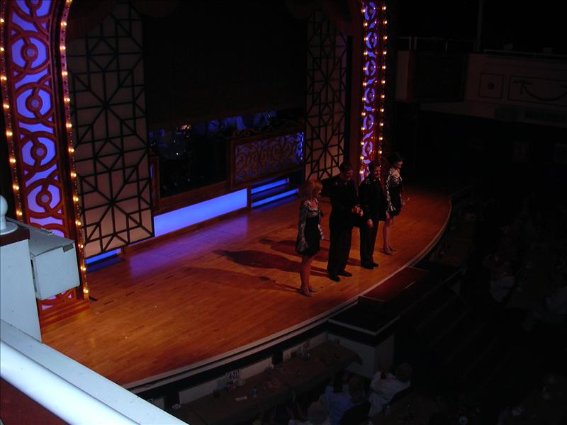 a Branson show