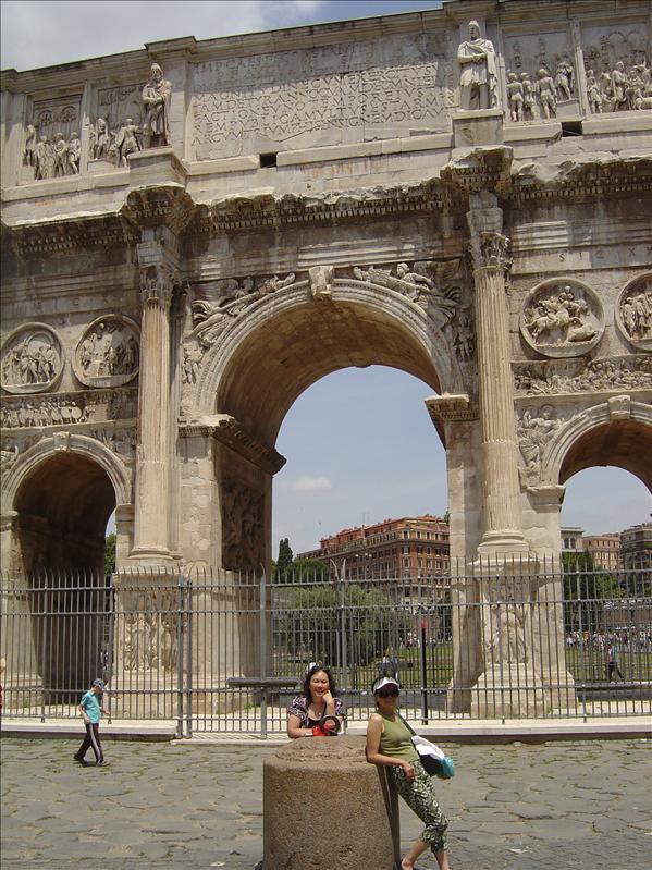 Constantine's Triumphal Arch, Rome