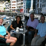 .. were we met up again with Sandra and Klaas from Seville.