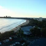 Beach From Balcony.