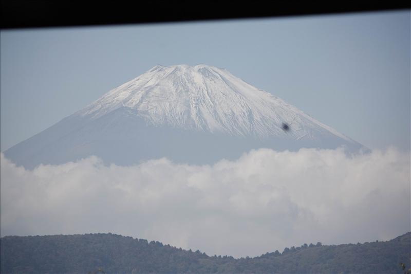 轉個彎又看到富士山