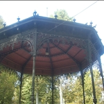 The gazebo, it reminded me alot of a lolita umbrella