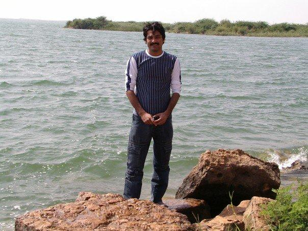 At a Lake new Thatta, Near karachi