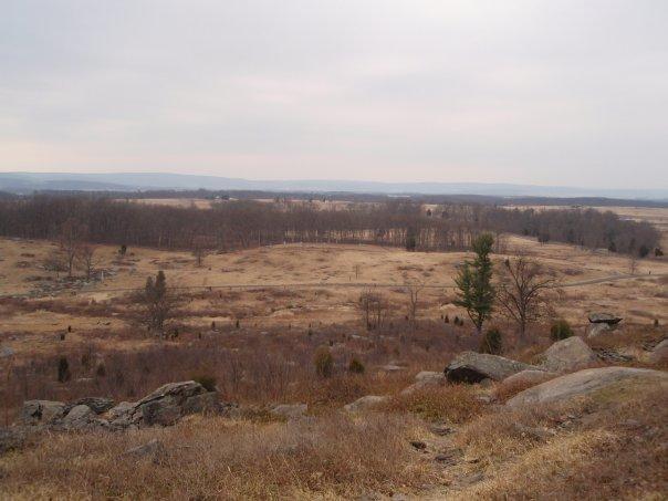 Gettysburg- The battlefield where 6000 men were killed in one day
