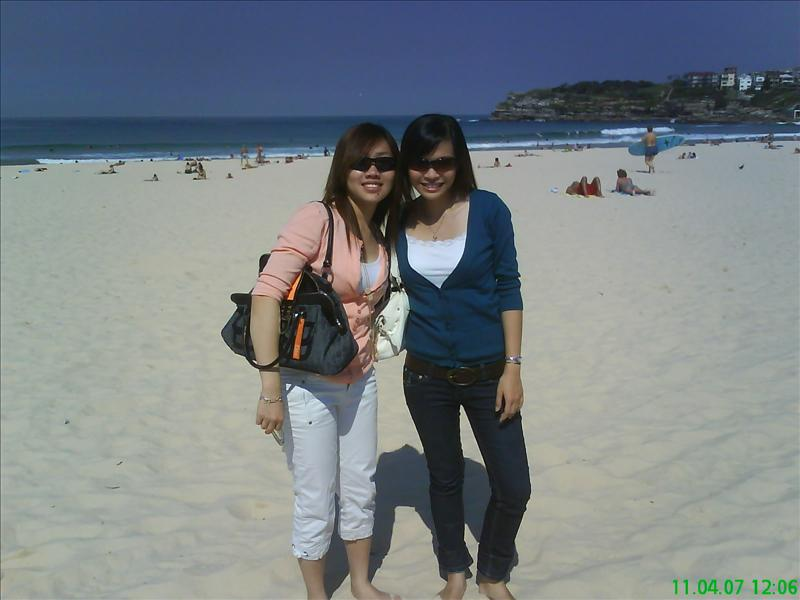 with tasia at bondi