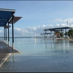 If only Clontarf Baths looked like this!  The Lagoon, Cairns