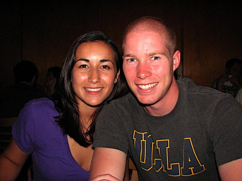 Couple from UCLA we met at Father's Office Grill