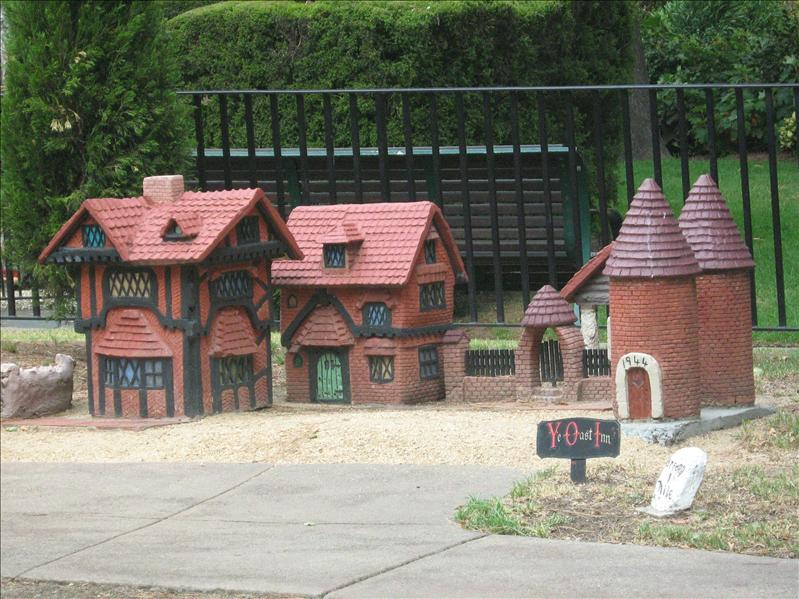 Minature Tudor Village