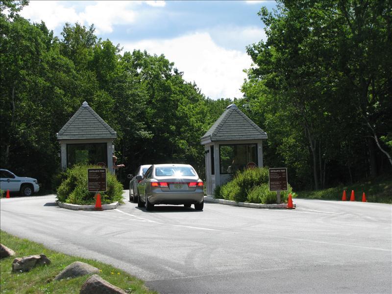 ingang Acadia National Park