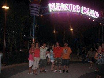 Everyone at pleasure island