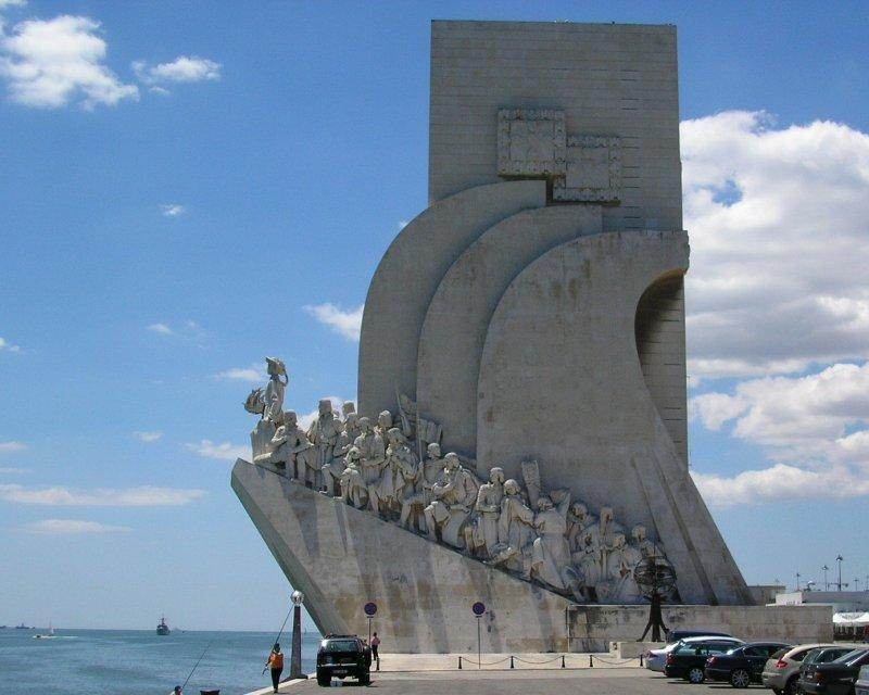 The Monument to the Discoverers at Belem.