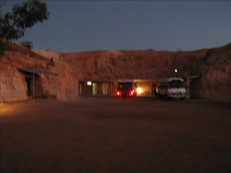 Our Hostel at Coober Pedy