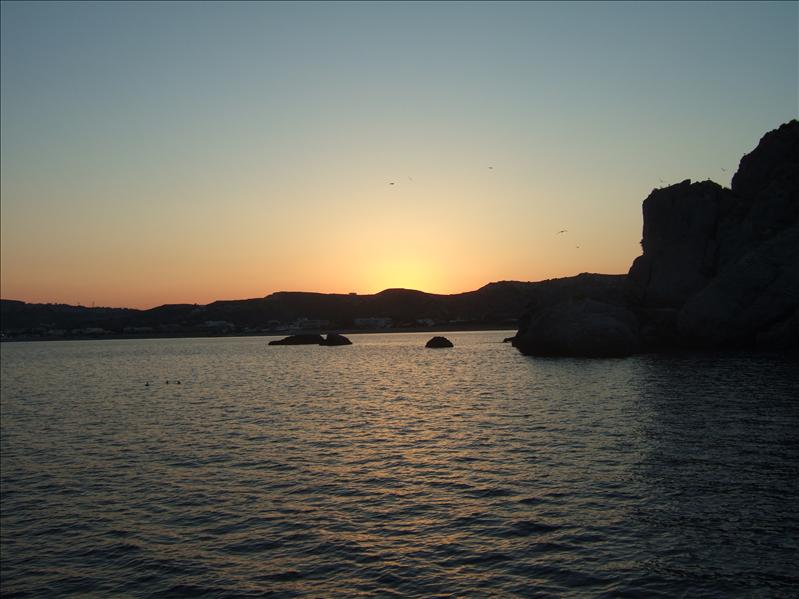 Sunset Cruise around Kefalos Bay