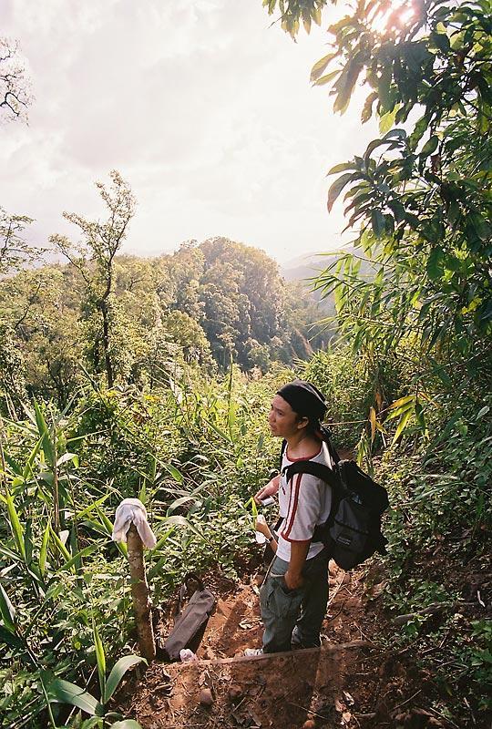 Trekking on Phoosoidao