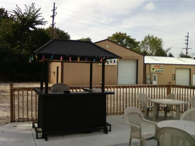 a semi inviting bar