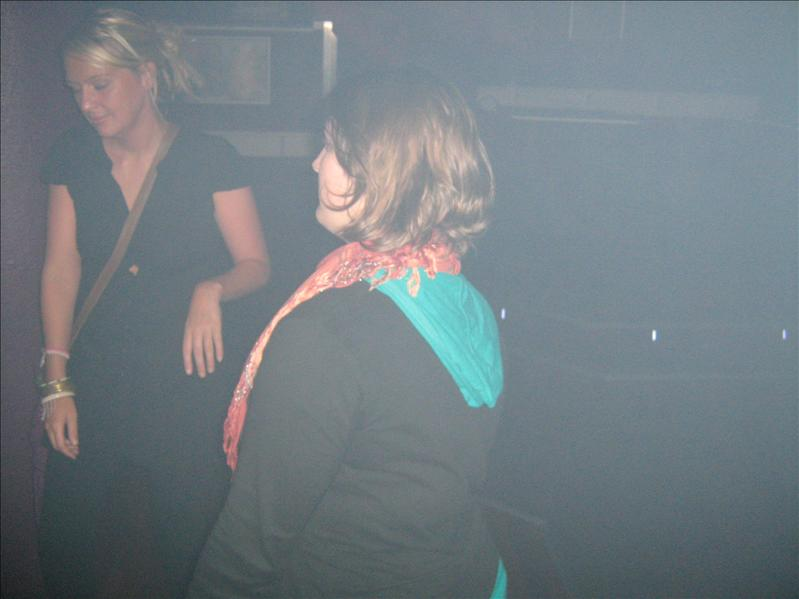 Kelly and Kathrine in Mars Bar