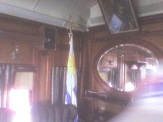 Vagón Presidencial Sala