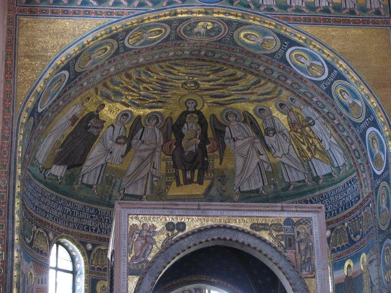 Mosaics at Porec....