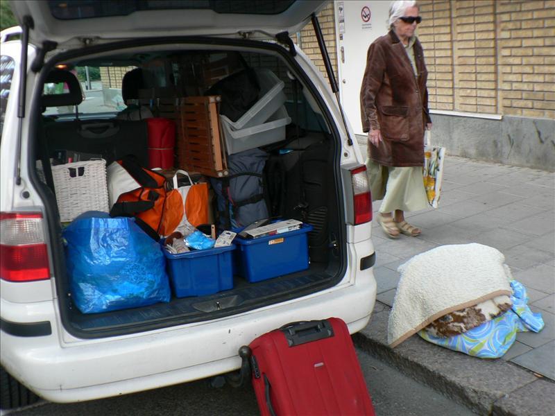 Leaving Sweden