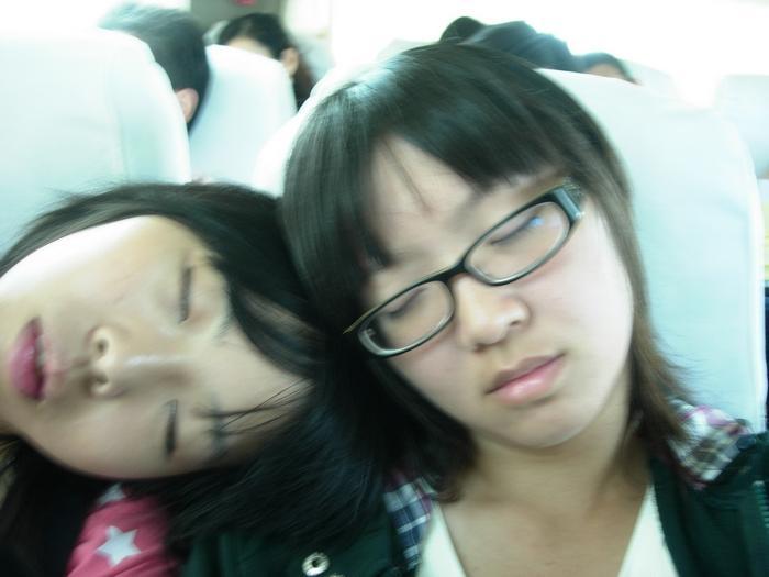 回程兩小時大家都累死了~