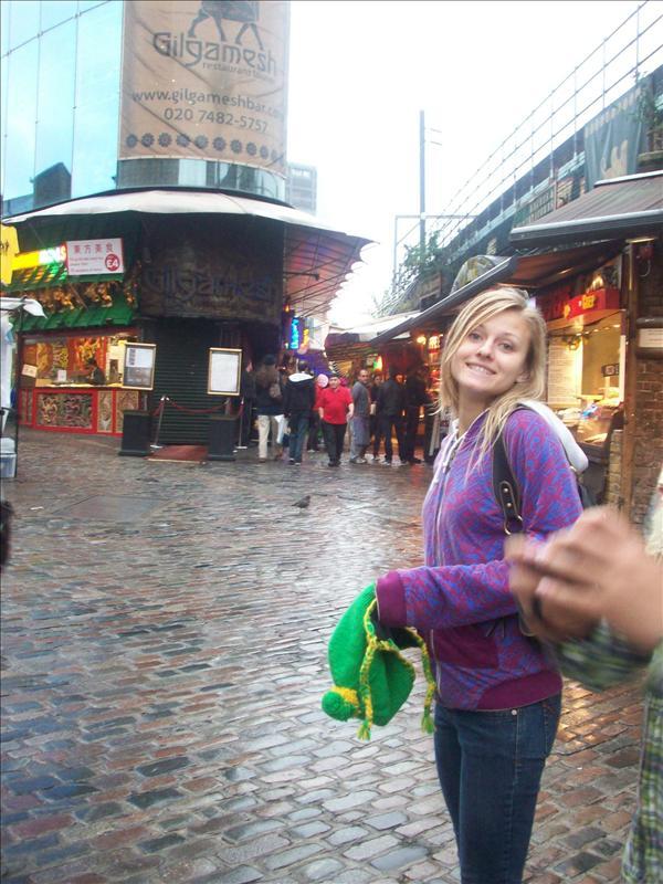 Jess in Camden Market