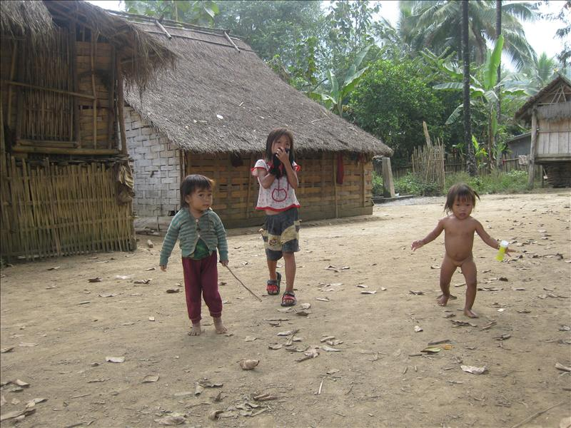 Khmu tribe is indigenous to Laos