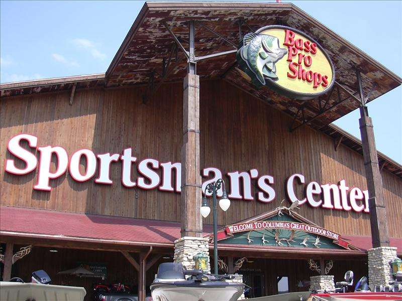 the home of Bass Pro Shops for fishing and hunting fans