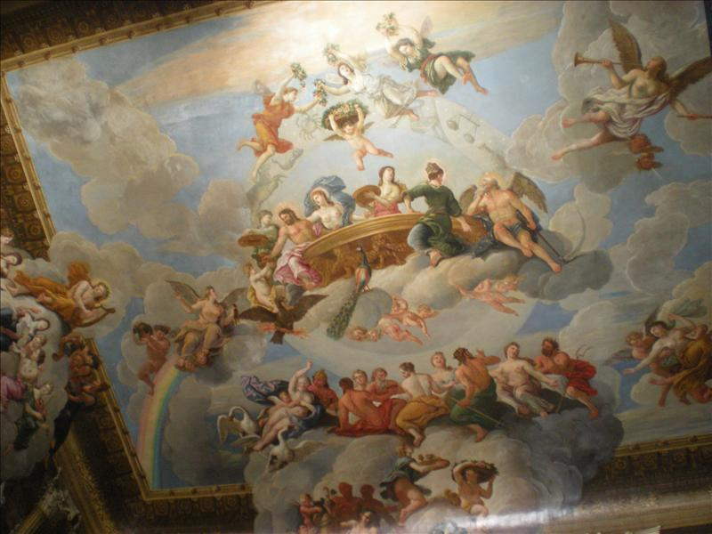 Ceiling, Hampton Court - 26th May