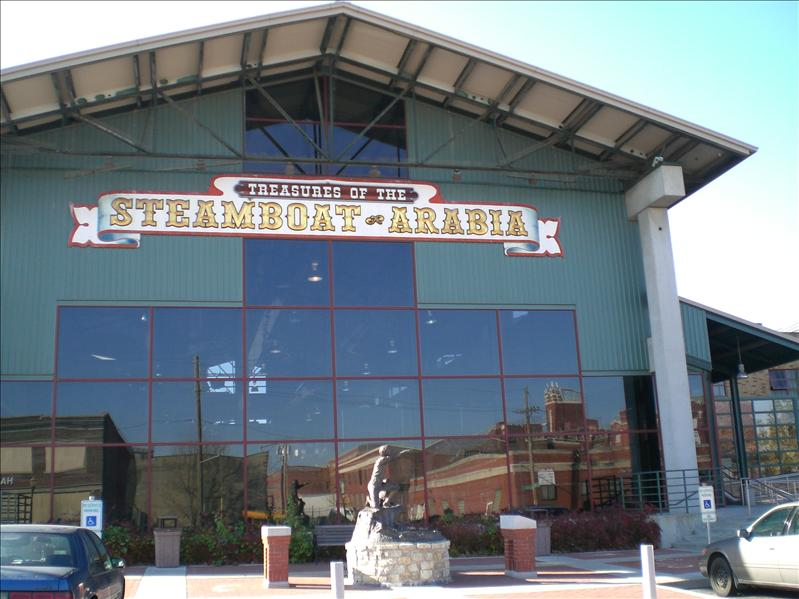 One of the few pic I took in Kansas City - The Arabia Steamboat Museum