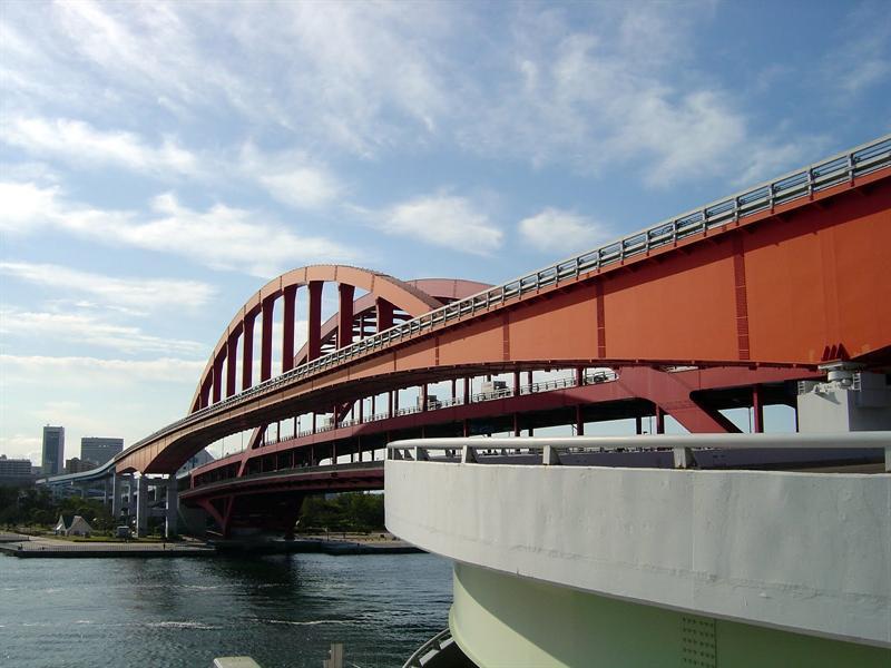 KOBE port (Kobe Chashi) 衶戶大橋.
