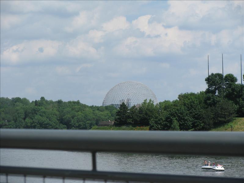 ecodome gebouwd voor wereldtentoonstelling